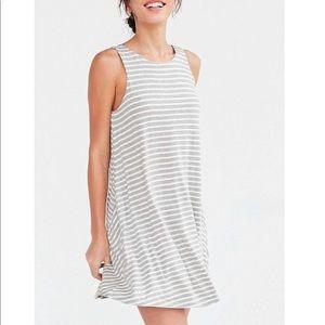 BDG Stripe Scoop Back Tank Dress